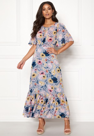 byTiMo Semi Couture Gown 833 Flora Blue L