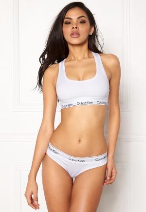 Calvin Klein CK Cotton Thong 100 White M