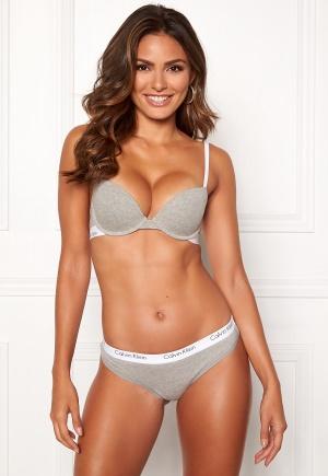 Calvin Klein CK One Cotton T-shirt Bra Grey Heather 75DD