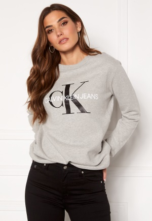 Calvin Klein Jeans Core Monogram Logo Sweatshirt 038 L Grey Heather XL