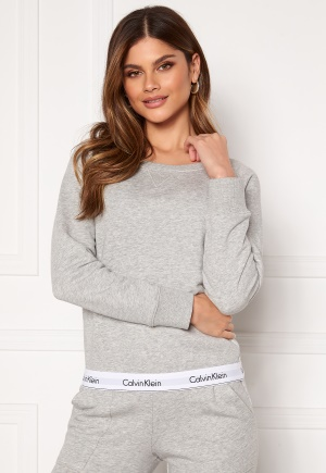Calvin Klein Top Sweatshirt LS 020 Grey Heather L
