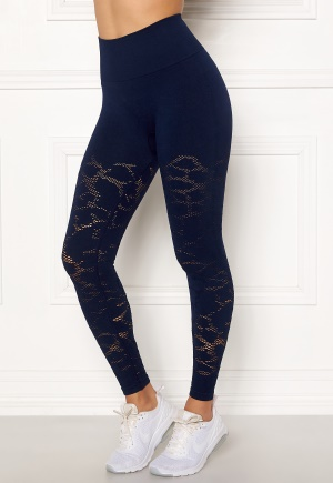 Casall Seamless Structure Tights 043 Pushing Blue M