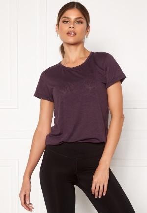 Casall Texture Tee 125 Revive Purple 42