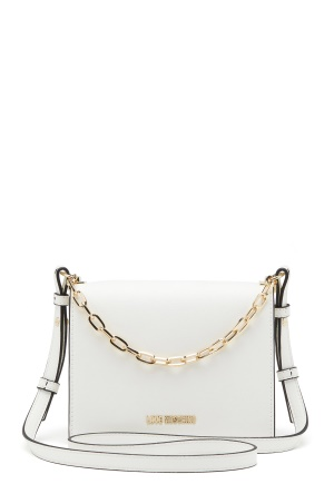 Love Moschino Chain Crossbody Bag 100 White One size