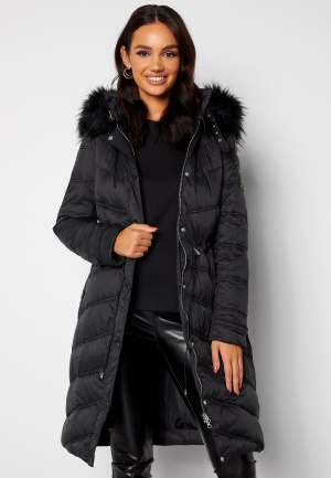Chiara Forthi Adelfia Padded Jacket Black 34