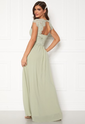 Chiara Forthi Amante lace Gown Light green 44