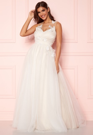 Chiara Forthi Bernadette Wedding Gown Champagne 40