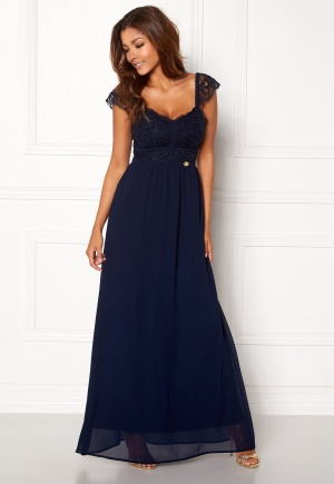 Chiara Forthi Brianna Gown Dark blue L (EU42)