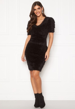 Chiara Forthi Cara furry skirt Black M