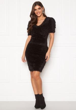 Chiara Forthi Cara furry skirt  Black XL