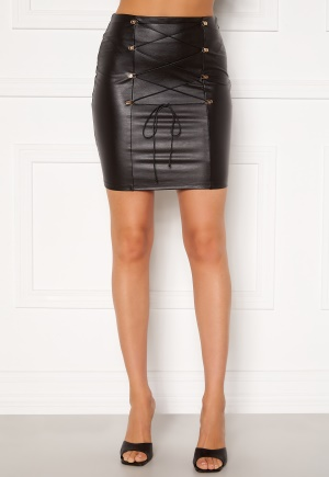 Chiara Forthi Cardi lace up skirt Black 34