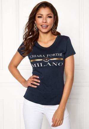 Chiara Forthi Chiara Tee Navy L