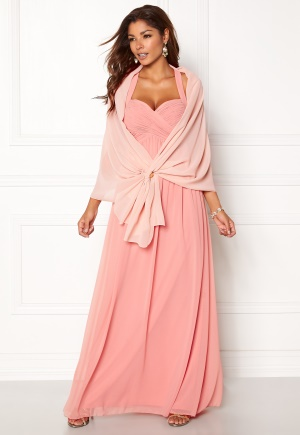 Chiara Forthi Chiffon Shawl Pink One size thumbnail