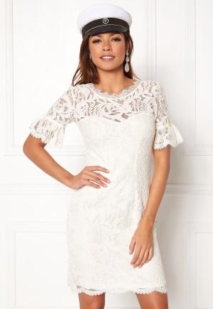 Chiara Forthi Cloelle Lace Dress Antique white 34