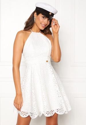 6a6b18ae2dd0 Chiara Forthi Elaine lazer cut dress White 34