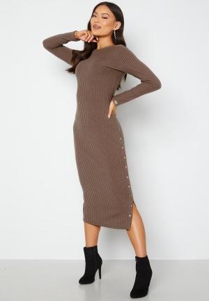 Chiara Forthi Flariana button midi dress Light brown M