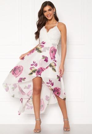 Chiara Forthi Floreale highlow dress Pink / White / Floral 34