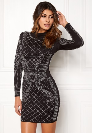 Chiara Forthi Kissed by the stars Dress Black / Silver S (EU36)
