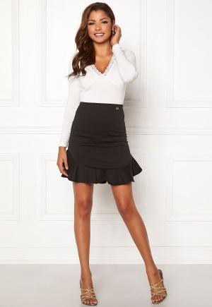 Chiara Forthi Lenu frill skirt  Black S