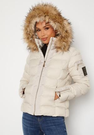 Chiara Forthi Madesimo down jacket Light beige 44