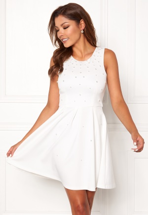 Chiara Forthi Marla pearl dress White 34