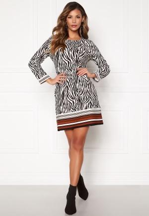 Chiara Forthi Maura Dress Black / Offwhite / Brown S