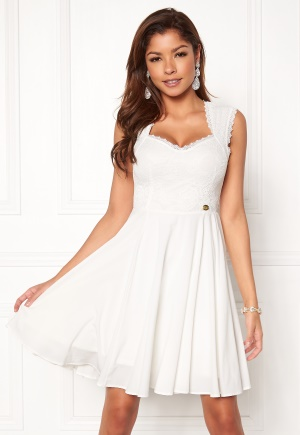Se Chiara Forthi Piubella Dress Antique white M (EU38/40) ved Bubbleroom