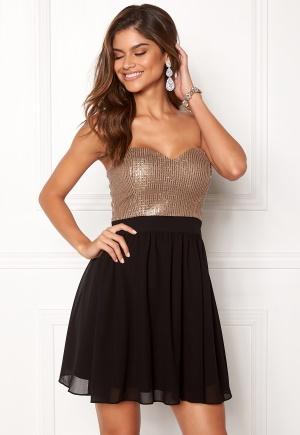 Chiara Forthi Reese sequin dress Black / Rose gold 40