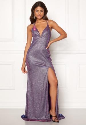 Christian Koehlert Dream Glitter Dress Glitter Purple 34