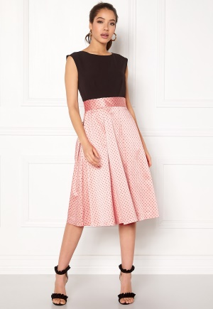 Closet London Pleated 2 in1 Dress Multi XL (UK16)