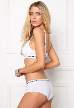 TOMMY HILFIGER Cotton Shorty Iconic 100 White XS