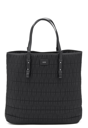DAGMAR Quilted Shopping Bag Black One size