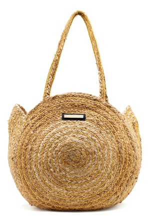 DAY ET Day Straw Round Bag Natural One size