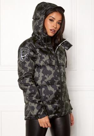 D.Brand Eskimå Camo Jacket Black Camo L