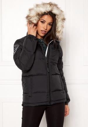 D.Brand Eskimå Short Jacket Black/Grey XS