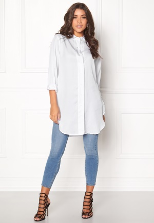 D.Brand Lilly Shirt Dress White XS