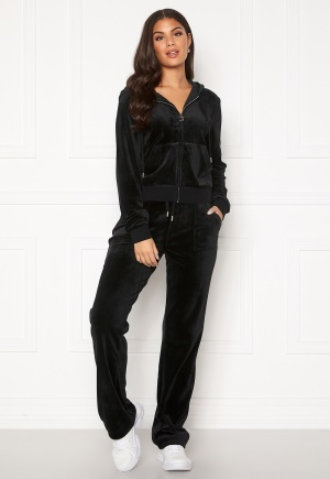 Juicy Couture Del Ray Classic Velour Pant Black L