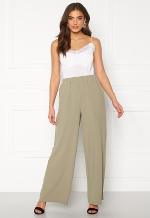 Dr. Denim Bell Trousers Green Agate XS