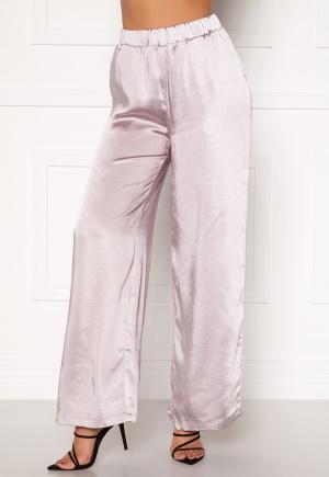 Dr. Denim Bell Trousers Silver Satin L