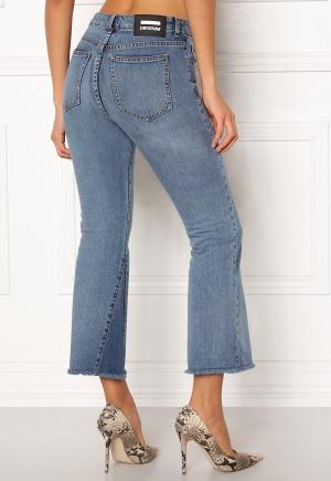 Image of Dr. Denim Genesis Jeans Mid Blue Wedge 26/26