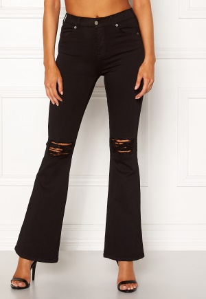 Dr. Denim Macy Black Ripped Knees XL/32