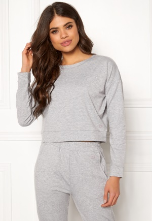 Drop of Mindfulness Charlotte Top Grey Mel XS