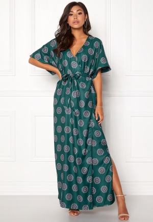 DRY LAKE Avery Kimono Dress Star Fish S