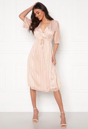 DRY LAKE Boho Mid Dress 849 Pink Rainbow S