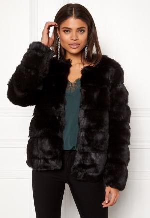 DRY LAKE Cozy Bubble Mid Jacket Black XS