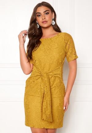 DRY LAKE Daisy Dress 715 Yellow Lace L