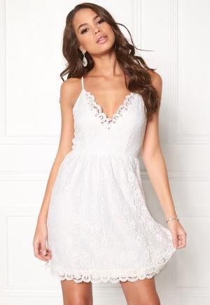 DRY LAKE True Love Strap Dress 100 White M