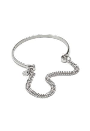 Dyrberg/Kern Pano Shiny Silver Silver One size