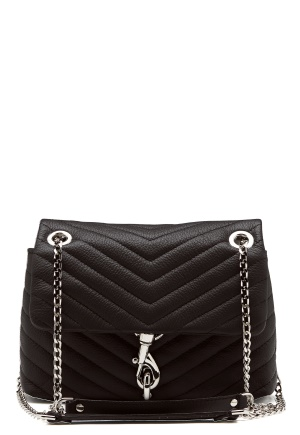 Rebecca Minkoff Edie Xbody Pebble Bag Black One size