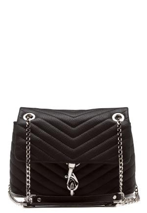 Rebecca Minkoff Edie Xbody Pebble Bag Black One size